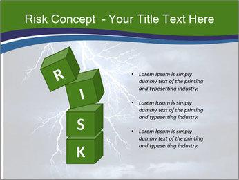 Lightning strike PowerPoint Template - Slide 81