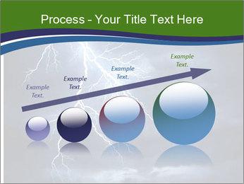Lightning strike PowerPoint Template - Slide 87