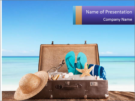Summer travelling PowerPoint Templates