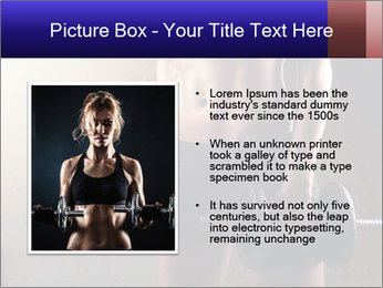 Athletic woman PowerPoint Template - Slide 13