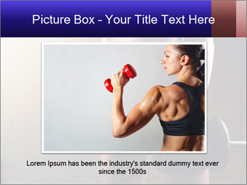 Athletic woman PowerPoint Template - Slide 15
