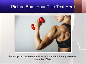 Athletic woman PowerPoint Template - Slide 16