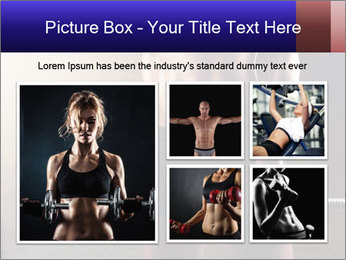 Athletic woman PowerPoint Template - Slide 19