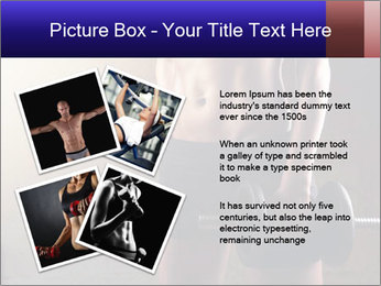 Athletic woman PowerPoint Template - Slide 23