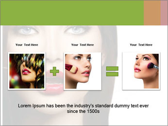 Makeup PowerPoint Template - Slide 22