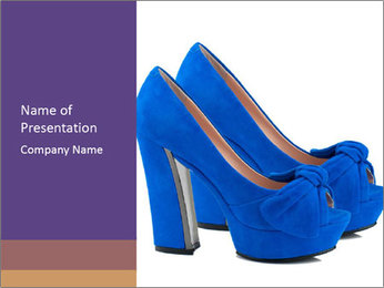 Women shoes PowerPoint Template
