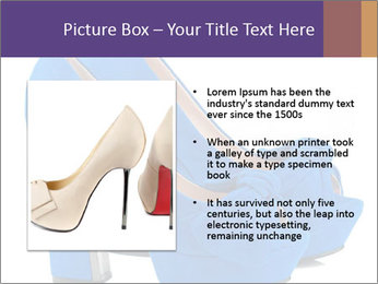 Women shoes PowerPoint Template - Slide 13