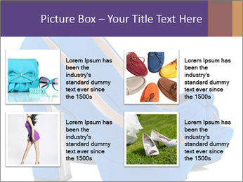 Women shoes PowerPoint Template - Slide 14