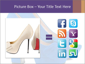 Women shoes PowerPoint Template - Slide 21