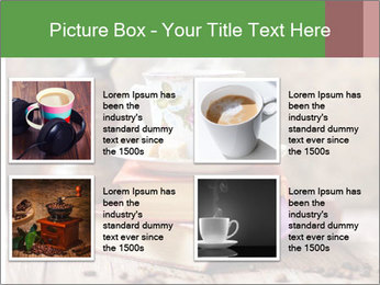 Coffee cup PowerPoint Template - Slide 14