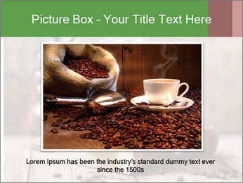 Coffee cup PowerPoint Template - Slide 16