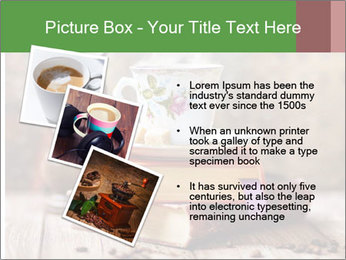Coffee cup PowerPoint Template - Slide 17