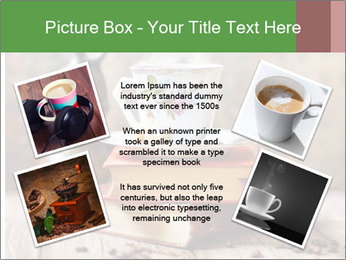 Coffee cup PowerPoint Template - Slide 24