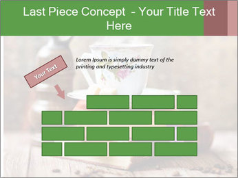 Coffee cup PowerPoint Template - Slide 46