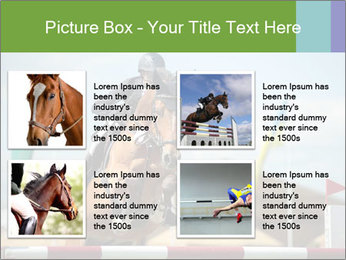 Equestrian Competition PowerPoint Template - Slide 14