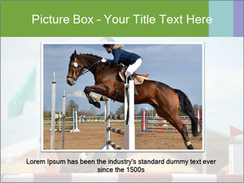 Equestrian Competition PowerPoint Template - Slide 15