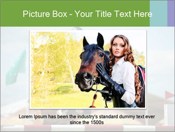 Equestrian Competition PowerPoint Template - Slide 16