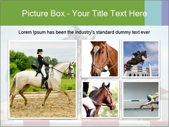 Equestrian Competition PowerPoint Template - Slide 19