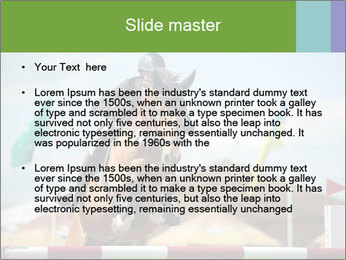 Equestrian Competition PowerPoint Template - Slide 2
