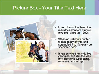 Equestrian Competition PowerPoint Template - Slide 20
