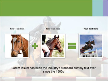 Equestrian Competition PowerPoint Template - Slide 22