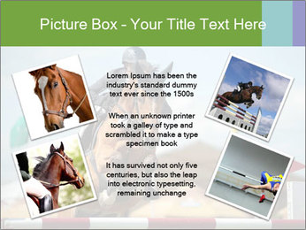 Equestrian Competition PowerPoint Template - Slide 24