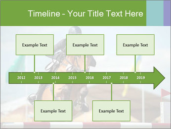 Equestrian Competition PowerPoint Template - Slide 28