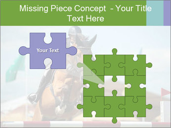 Equestrian Competition PowerPoint Template - Slide 45