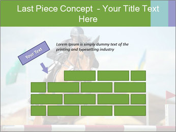 Equestrian Competition PowerPoint Template - Slide 46