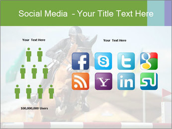 Equestrian Competition PowerPoint Template - Slide 5