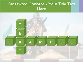 Equestrian Competition PowerPoint Template - Slide 82