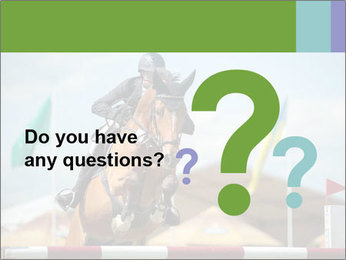 Equestrian Competition PowerPoint Template - Slide 96