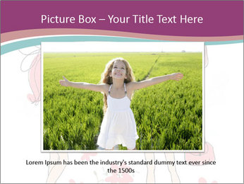 Cute girls PowerPoint Templates - Slide 16