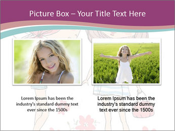 Cute girls PowerPoint Templates - Slide 18