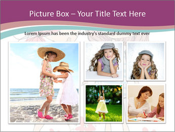 Cute girls PowerPoint Templates - Slide 19