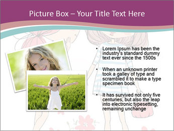 Cute girls PowerPoint Templates - Slide 20