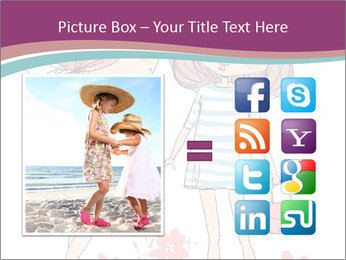 Cute girls PowerPoint Templates - Slide 21