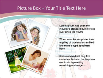 Cute girls PowerPoint Templates - Slide 23