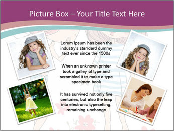 Cute girls PowerPoint Templates - Slide 24