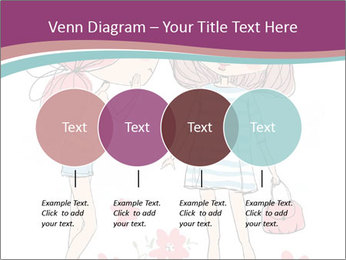 Cute girls PowerPoint Templates - Slide 32