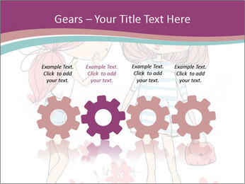Cute girls PowerPoint Templates - Slide 48
