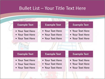 Cute girls PowerPoint Templates - Slide 56