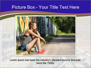 Handsome hipster PowerPoint Template - Slide 15