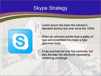 Handsome hipster PowerPoint Template - Slide 8