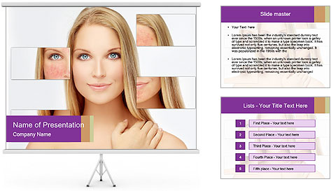 Rosacea PowerPoint Template