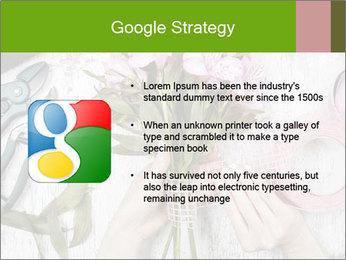 Florist at work PowerPoint Template - Slide 10