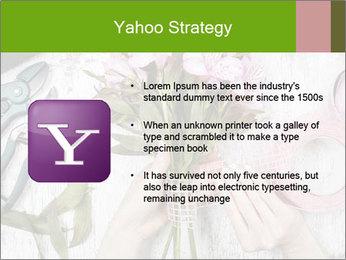 Florist at work PowerPoint Template - Slide 11