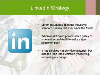 Florist at work PowerPoint Template - Slide 12