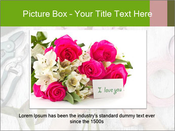 Florist at work PowerPoint Template - Slide 15
