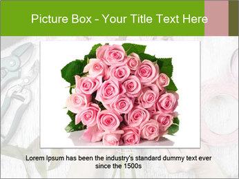 Florist at work PowerPoint Template - Slide 16
